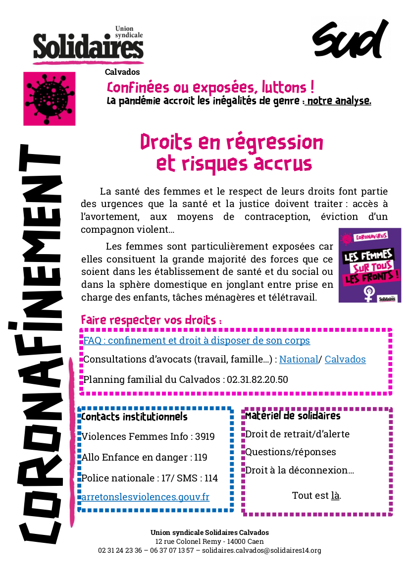 tract corona femmes - outils - mars 2020